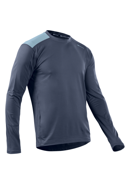 SUGOI Men's Titan Core L/S, Coal Blue (U602000M)