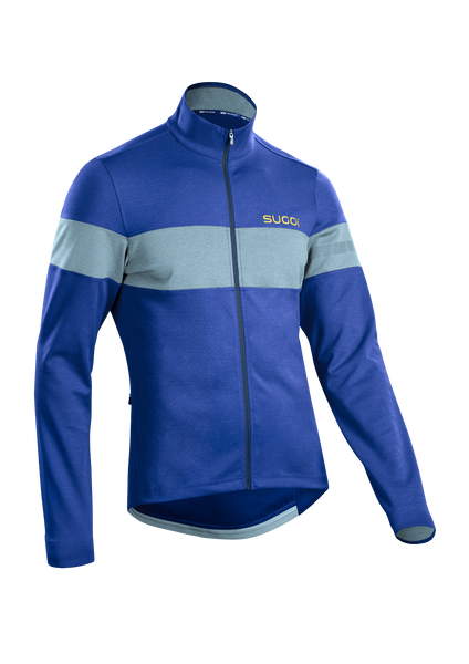 SUGOI Men's Club Jersey, Deep Royal (U675030M)