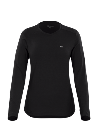 SUGOI Women's Off Grid Long Sleeve (L/S), Black (U605000F)