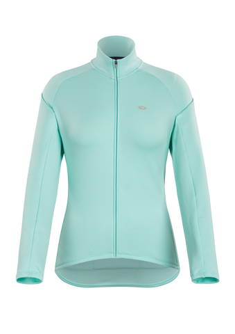 SUGOI Women's Classic Long Sleeve (L/S) Jersey, Teal Pool (U675050F)