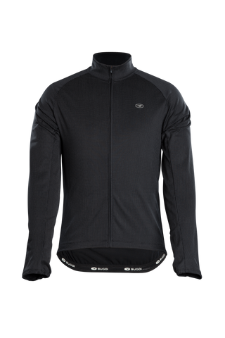 SUGOI Men's Zap Thermal L/S Jersey, Black (U675520M)