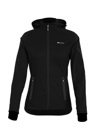 SUGOI Women's Firewall 180 Jacket, Black (U720000F)