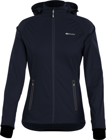 SUGOI Women's Firewall 180 Jacket, Deep Navy (U720000F)