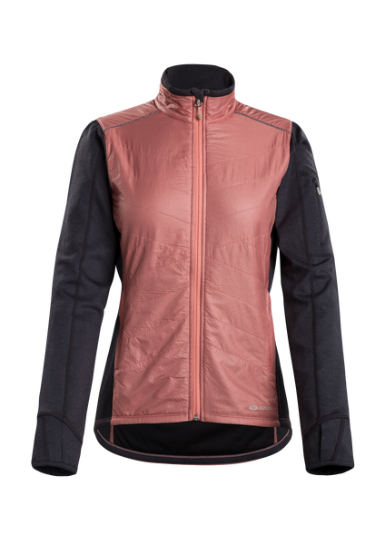 SUGOI Women's Alpha Hybrid Jacket, Ash Rose (U740000F)