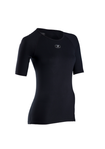 SUGOI Women's RS Core S/S, Black (19507F)