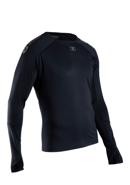 SUGOI Men's RS Core L/S, Black (19671U)