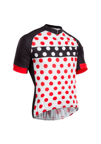 SUGOI Men's Evolution Zap Jersey, Chili/Black/White (U576010M)