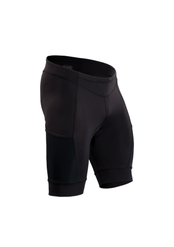 SUGOI Men's Piston 200 Tri Pkt Short, Black (19074U)