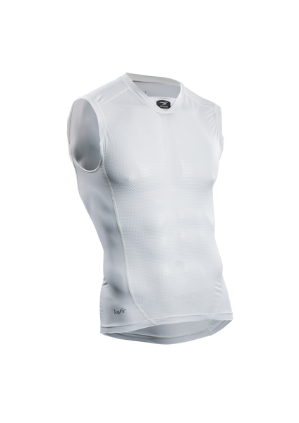 SUGOI Men's RS Base Layer S/L, White (19205U)