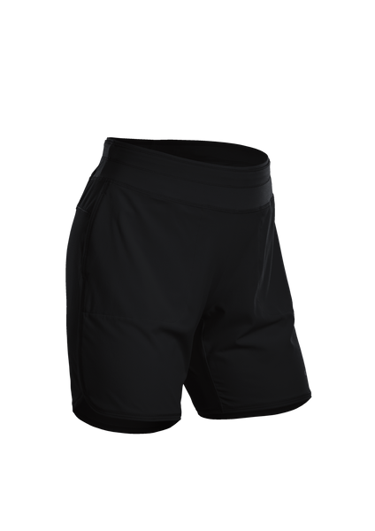 SUGOI Women's Prism 7 inch Short, Black (U302600F)