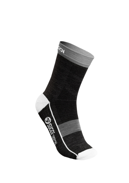 SUGOI RS Winter Sock, Black (U946500U)