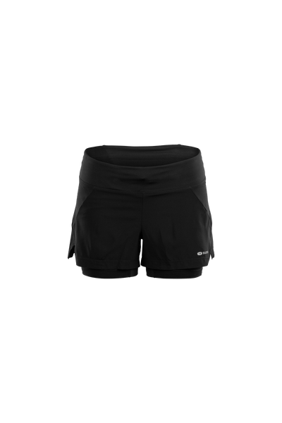 SUGOI Women's Prism 2 in 1 Short, Black (U301080F)