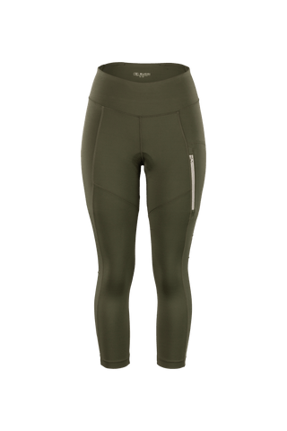 SUGOI Women's Off Grid Knicker, Deep Olive (U389520F)