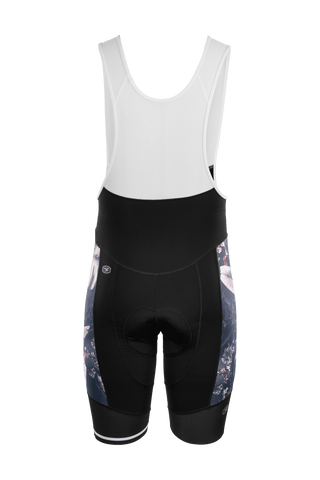 SUGOI RS Pro Bib Short, Navy Monstera Alt (U391000M)