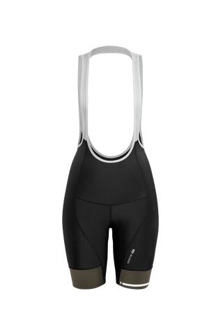 SUGOI Women's Evolution Bib Short, Deep Olive (U392000F)