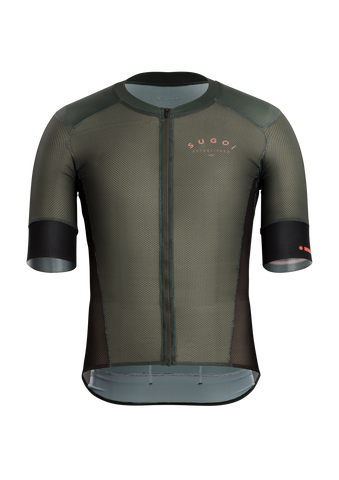 SUGOI RS Climber's Jersey, Deep Olive (U575540M)