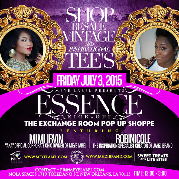 Essence Festival: The Exchange Room Pop Up Shoppe