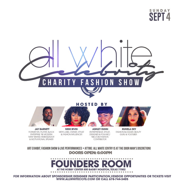 RECAP: Brunch & All White Charity Fashion Show