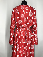 1970s Dot to Dot Vintage Dress