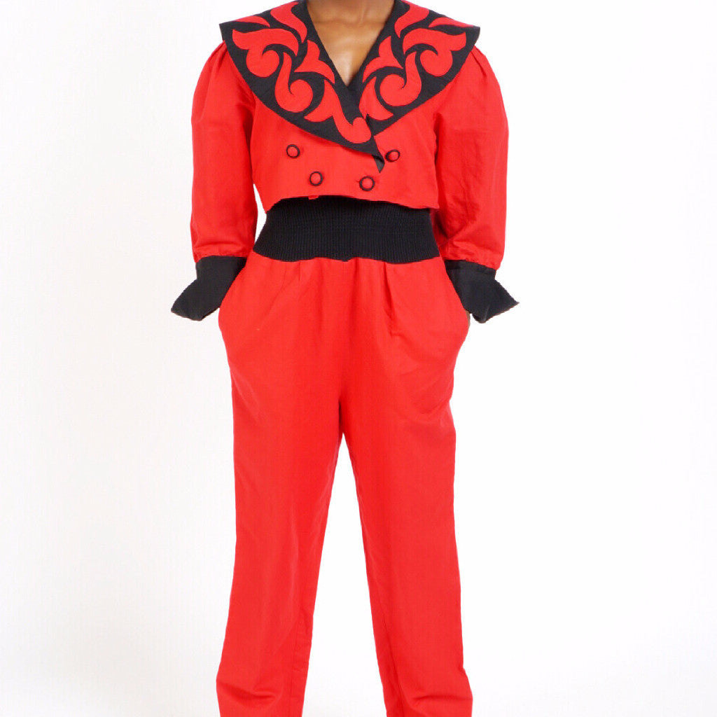 80s Step Jumpsuit