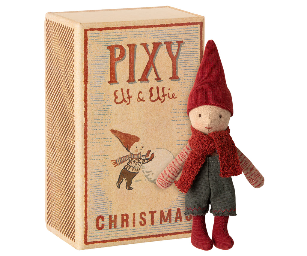 Pixy Elf In Box - Mabel Child