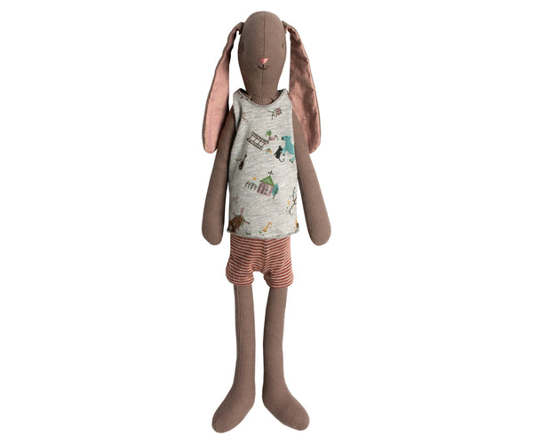 Maileg Medium Brown Bunny Boy - Mabel Child