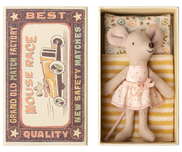 Little Sister In Mouse Box (Pre Order) Ship End Of November - Mabel Child