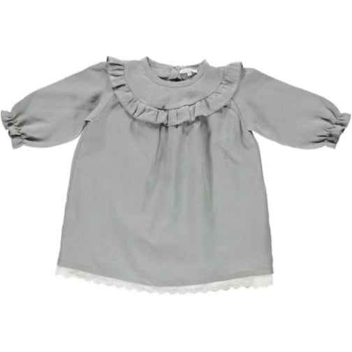 Milja Dress - Drizzle - Mabel Child