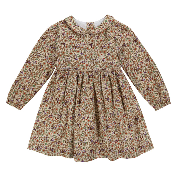Dorothy Dress Autumal Floral - Mabel Child