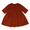 Ingrid Dress - Rust Needlecord - Mabel Child