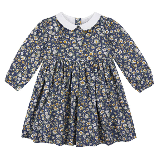 Dorothy Dress - Blue Floral - Mabel Child
