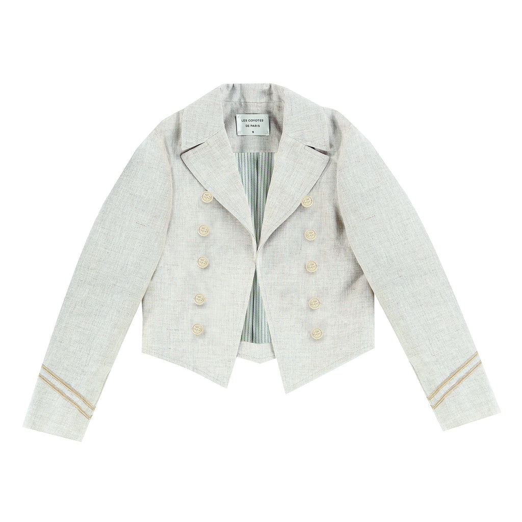 Amelie Jacket Sand. - Mabel Child