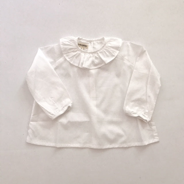 Ruffle Neck Shirt - Mabel Child
