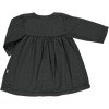 Aubepine Pirate Dress - Black - Mabel Child