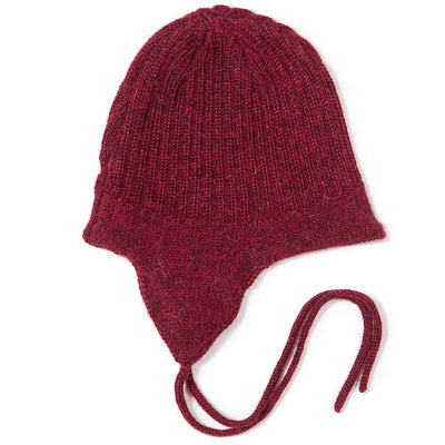 Baby Hat In Red - Mabel Child