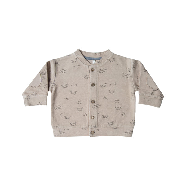 Crab Pebble Cardigan - Mabel Child