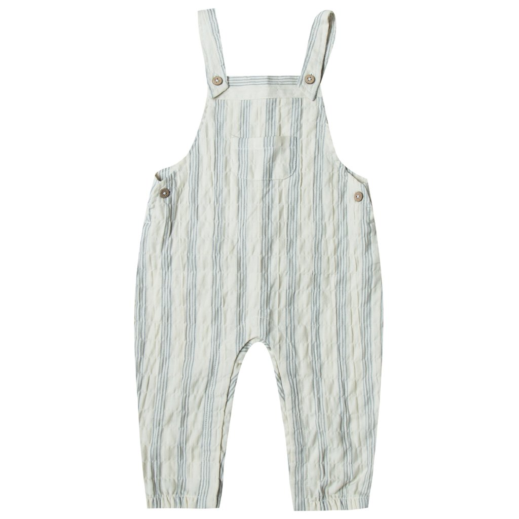 Stormy Blue Stripe Overall