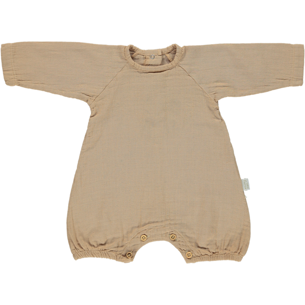 Combinasion Genevrier Romper -Indian Tan - Mabel Child