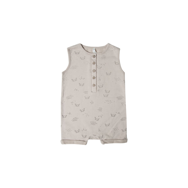 Crab Pebble Romper - Mabel Child