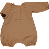 Combinaison Genevrier Romper - Brown Sugar - Mabel Child