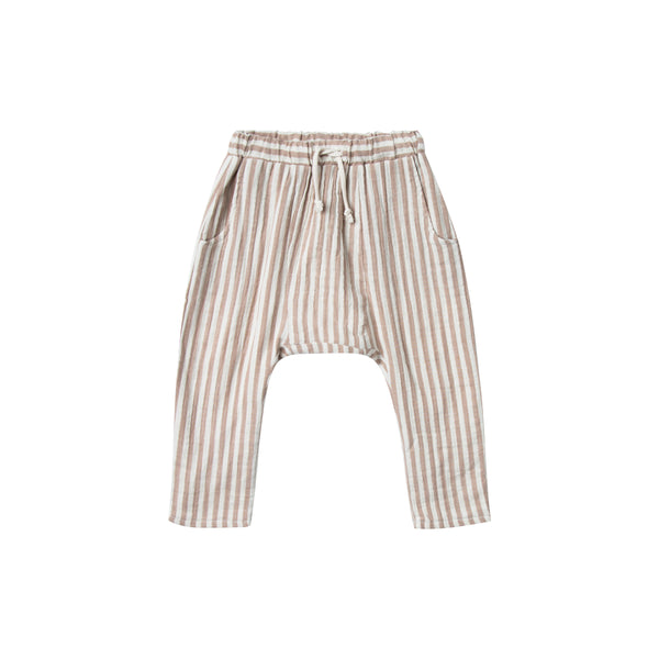 Cocoa Stripe Trouser - Mabel Child