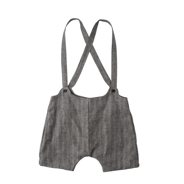 Herringbone Suspender Bloomer - Mabel Child