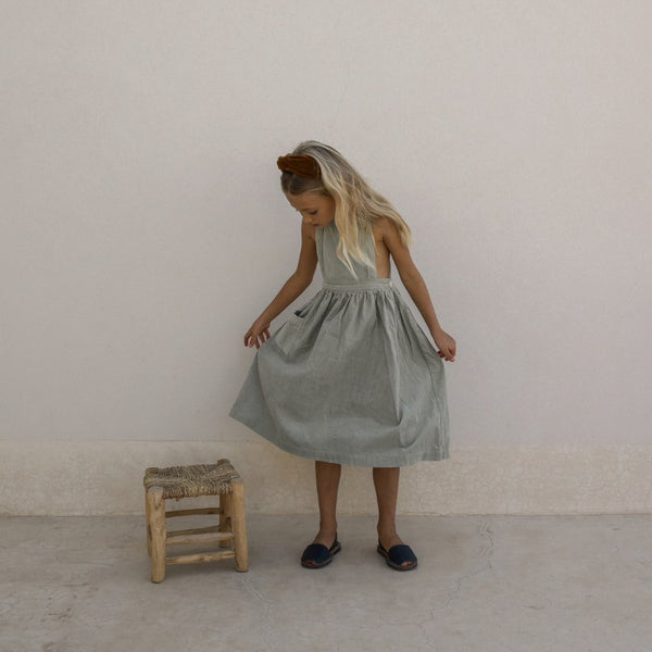 VALÉRIANE Dress In Desert Sage - Mabel Child