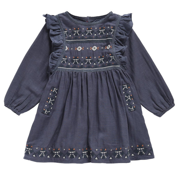 Lwona Dress - Acier - Mabel Child