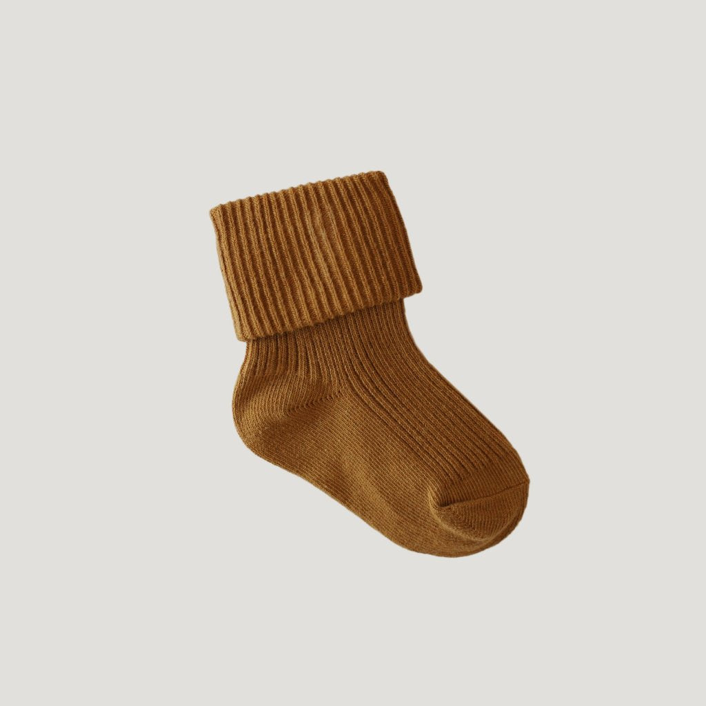 Rib Golden Sock - Mabel Child