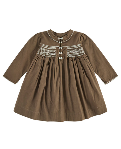 Ava Smocked Dress - Mabel Child