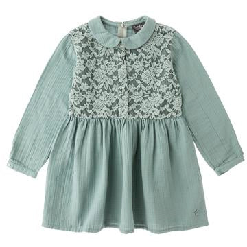 Lace Green Dress - Mabel Child