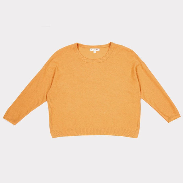 Lotus Jumper In Tangerine - Mabel Child