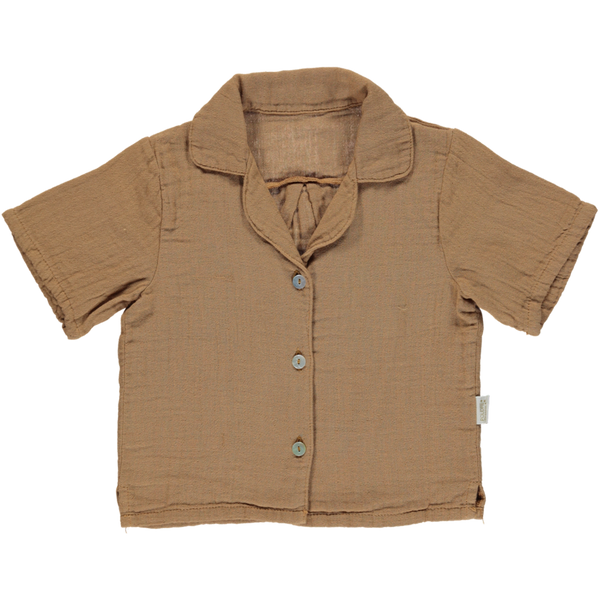 Mandarine Blouse - Brown Suger - Mabel Child
