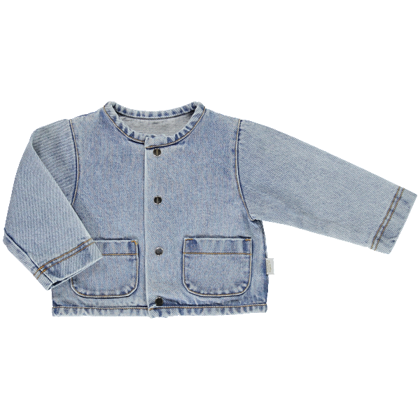 Manico Jacket - Denim - Mabel Child